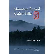 Mountain Record of Zen Talks (Dharma Communications)