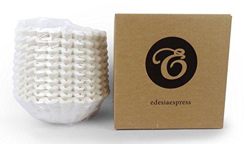 EDESIA ESPRESS - Pack de 500 filtros de papel para café - Para cafeteras de uso comercial - 90/240 mm