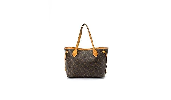 Authentic Women s Vintage Louis Vuitton Neverfull PM Brown Monogram Tote   Amazon.co.uk  Luggage 85c3ae05e1