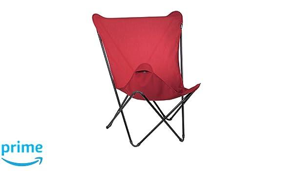 Sedia A Sdraio Classica Lafuma : Lafuma mobilier lafuma fodera per maxi pop up rosso cm
