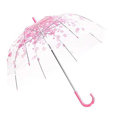 Bearivt Paraguas Transparente a Prueba de Viento