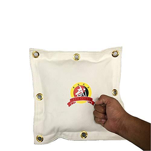 DETECH Mann Wing Chun Kung Fu Leinwand-Wand-Tasche Wand-Schlagpolster, Schlagkissen, Sandsack, Boxsack, Wandsandsack, Makiwara, Wandschlagpolster, Wandschlagkissen,JKD Wandmakiwara -