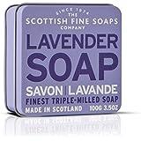 Scottish Fine Soaps Lavender Floral Soap Tin Soap  100 g