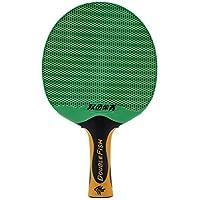 Lovelysunshiny Doble Peces Al Aire Libre, Impermeable, Tenis de Mesa, Bate, Ping Pong portátil, Paleta