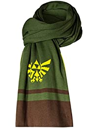 Musterbrand Zelda Bufanda de punto Hyrule caliente Verde