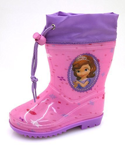 Disney-bottes en caoutchouc pour fille - Pink-Lila