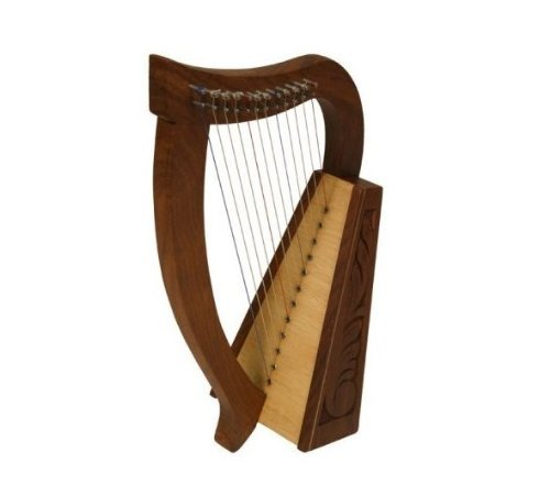 Petite harpe celtique 12cordes