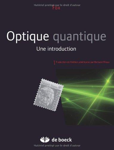 Optique quantique : Une introduction par Mark Fox