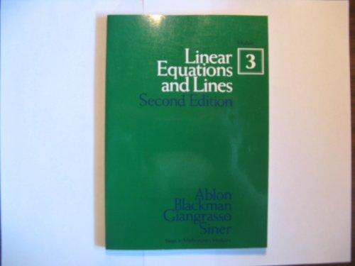 Steps in Mathematics: Linear Equations and Lines: Modules Co-line Modul