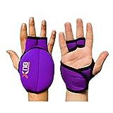 Xn8 Sports Weighted Gloves Wrist Weight Hand Neoprene Fitness (Purple, 1Kg Set = (1 * 2 = 2Kg))