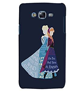 Citydreamz Forever/Let It Go/Quotes/Girls/Abstract Hard Polycarbonate Designer Back Case Cover For Samsung Galaxy On7 Pro