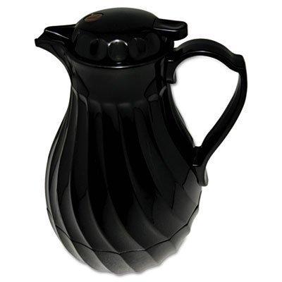 hormel-4022b-poly-lined-carafe-swirl-design-40-oz-capacity-black-by-hormel