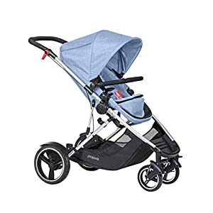 phil&teds Voyager Buggy Pushchair, Blue   9