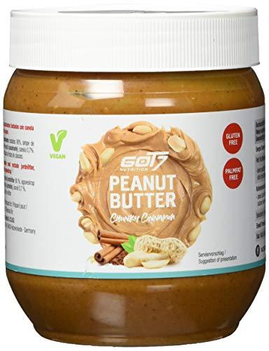 GOT7 Erdnussbutter Cinnamon-Zimt / Peanut Butter 500 g - Ohne Zuckerzusatz - Glutenfrei und Palmfettfrei - Kein Zuckerzusatz - Vegan und lecker, weiche Konsistenz
