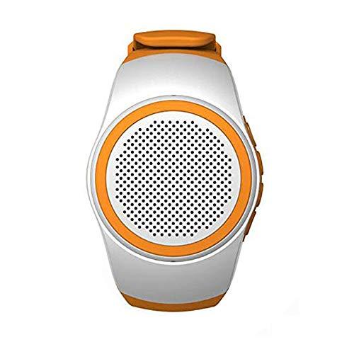 Wireless Bluetooth Lautsprecher Armbanduhr Tragbare Sport Armband MP3-Musik-Player UKW-Radio Freisprechfunktion Telefon-Anti-Verlorene TF Karten-Unterstützung Remote-Selbstauslöser USB-Ladevorgang