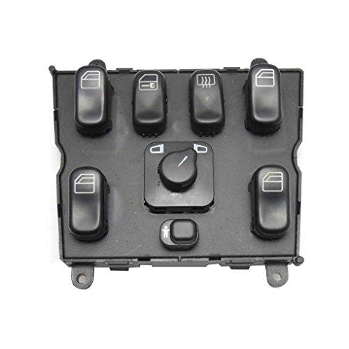 Laileya 1638206610 Schalter für Fensterheber für ML320 W163 Auto Elektronische Fensterheber Master Switch