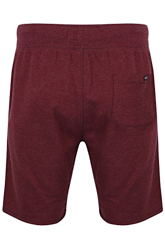 UOMO TOKYO Laundry BEAVERTON Jogger Pantaloni palestra sport jogging Pantaloncini sportivi ROSSO PIUMA - BORDEAUX MARNA