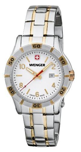 Wenger 01.9211.105 - Orologio da polso donna, acciaio inox, colore: argento