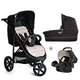 Hauck Rapid 3 Plus Trio Set/Dreirad Kinderwagen Set/isofix-fähige...