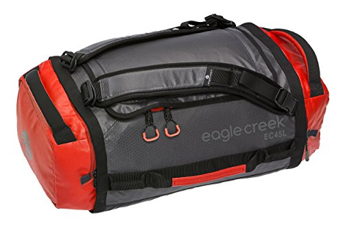 Reisetasche Cargo Hauler Duffel, 45 L, Rot/ Grau