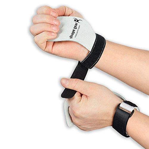 Premium Hand Grips - Pull up Grips für Crossfit, Turnen, Wodies Calisthenics, Freeletics, Gewichtheben und Gymnastik