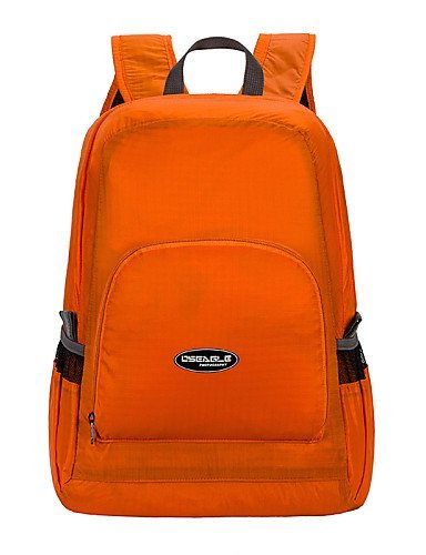 GXS oseagle Camping Radfahren Sport Tasche Faltbare Fitness Shoulder Taschen ligxstweigxst Wasserdicht Herren & Damen Travel Rucksack Orange - orange