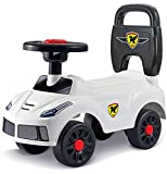 Webby Baby Kids Walker Ride On Push Car Toy Outdoor (White)