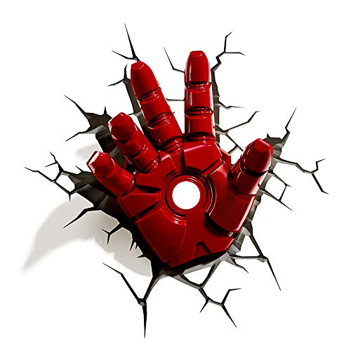 Iron Man Hand 3D Deco Light - Lites Top Mount