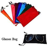 JUNGEN Bolsa de Gafas, 10X Bolsillo de Gafas de Sol Bolsa de PU ara el