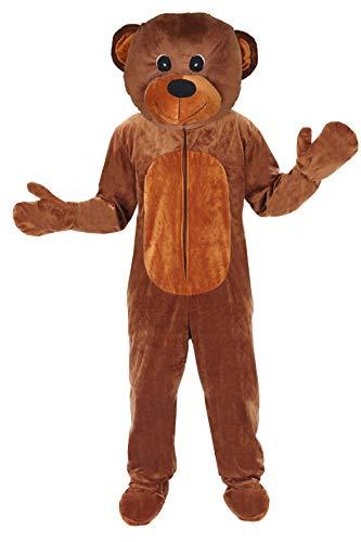 Teddy Bär Einheitsgrösse L - XL Kostüm Fasching Karneval ()