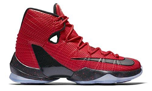 Nike Lebron Xiii Elite, espadrilles de basket-ball homme Rouge - Rojo (University Red / Blk-Brght Crmsn)