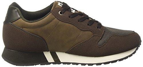 Sergio Tacchini Reims 2.0 MX, Sneaker a Collo Basso Uomo Verde (Military)