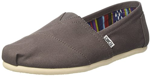 TOMS Men's Canvas Classics Alpargata NL Espadrilles, Grey (Ash Grey), 11 UK...