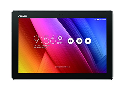 "Asus Z300CNL-6A024A ZenPad Tablet, Schermo da 10.1"" HD, Processore Intel Quad Core, HDD da 32 GB, Grigio Antracite"