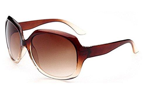 Inception Pro Infinite (Braun) Sonnenbrille - Damen - Groß - Vintage - Retro - Polarized Uv 400