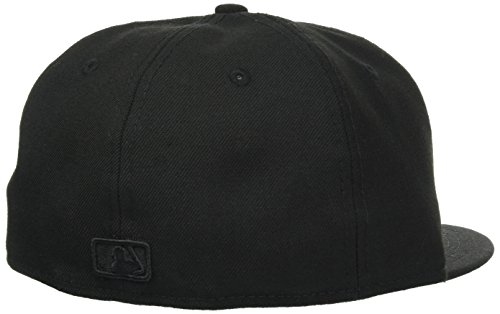 New Era Erwachsene Baseball Cap Mütze Mlb Basic NY Yankees 59Fifty Fitted NY Yankees Authentic - Black on Black