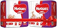 Huggies Wonder Pants Diapers, Extra Small (24 Count) & Huggies Wonder Pants Diapers, Small (Pack of