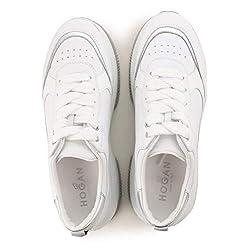 Hogan Maxi Active Zapatillas zapatos sneaker sneakers shoes de Caucho para Mujer Woman Blanco White Size 40 EU