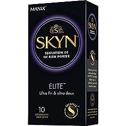 SKYN ELITE - 10 préservatifs Ultra fins et Ultra doux