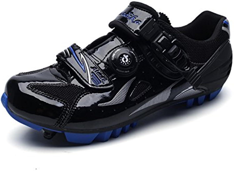 Zapatos de Montar a Caballo de la Bicicleta de los Hombres Que completan un Ciclo los Zapatos de Ciclo Que completan  -
