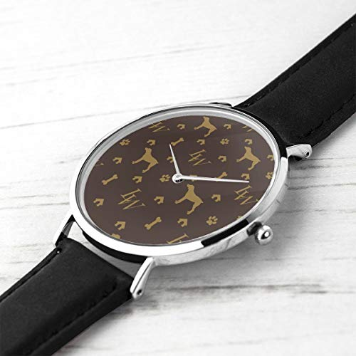 Men's Ultra Thin Fashion Minimalist Wrist Watches Louis Weim Luxury Dog Attire Waterproof Quartz Casual Watch Mens -