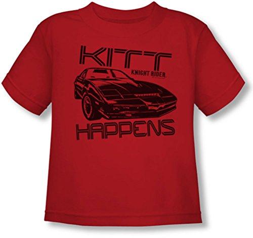 nbc-kitt-se-passe-t-t-shirt-tout-petits-en-rouge-3t-red
