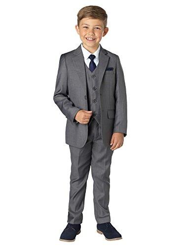 Paisley of London Jungen Anzug grau grau Gr. 2 Jahre, grau (Anzüge Grau Jungen)
