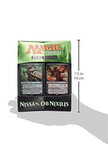 Magic-The-Gathering-14443-Juego-de-duelo-de-cartas-de-Nissa-vs-Ob-Nixilis