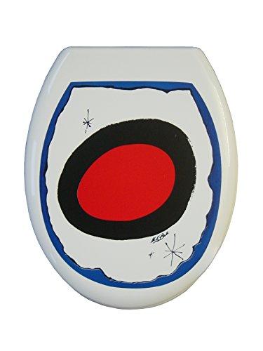 ADOB Thermoplast WC Sitz Klobrille Motiv MB Painting, 81136
