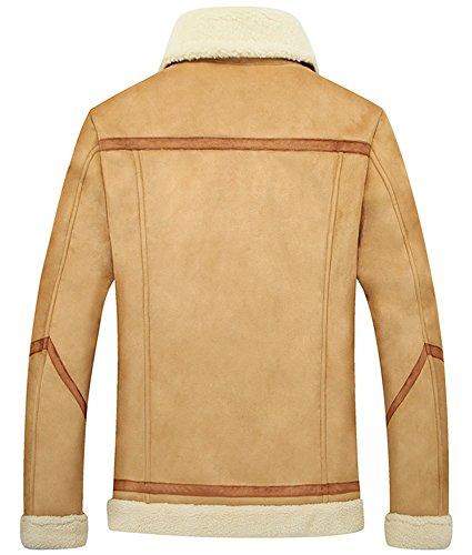 Manteau Fashion Business Loisirs Veste pour homme Gingembre