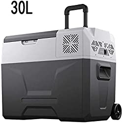 Frigo RéFrigéRateur Congelateur Glaciere Réfrigérateur Congélateur Portable à Compression Mini Refroidisseur (30L/40L/50L) avec Adaptateur AC/DC | Nourriture, Boissons, | Camping, Pique-nique, Voyage
