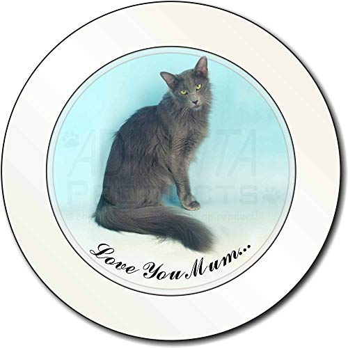 Advanta - Tax Disc Holders Javanese Cat 'Love You Mum' AutovignetteGenehmigungsinhaber Geschenk -