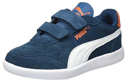 Puma Unisex-Kinder Icra Trainer SD V PS Sneaker, Blau (Sailor Blue-White), 35 EU