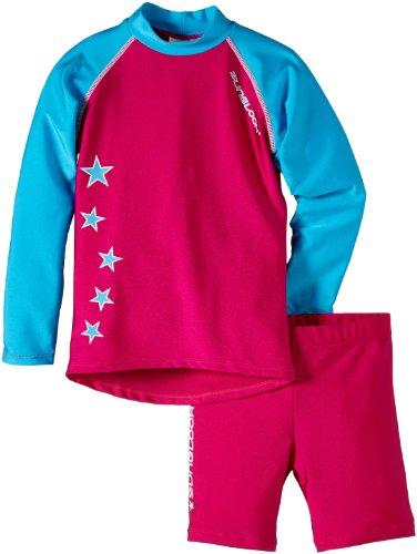 Zunblock Kinder UV-Schutzkleidung Suntop Set, Rosa, 98/104, 2400064